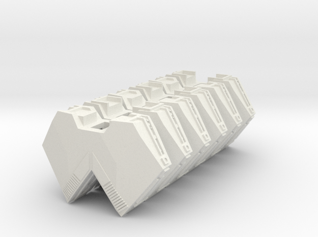 """Somtaaw """"Explorer"""" Support Modules (3) 3d printed"""
