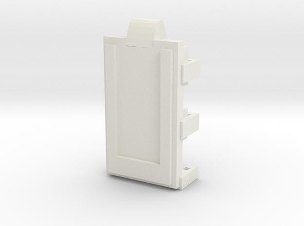 DNA40 Cradle v2 – WIDE display edition in White Natural Versatile Plastic