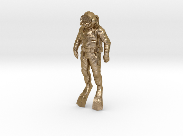 Commercial Diver 55mm 3d printed