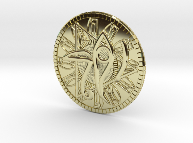 Game coin(Egypt) in 18k Gold
