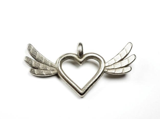 Yolanda's Heart & Wing Order 3d printed