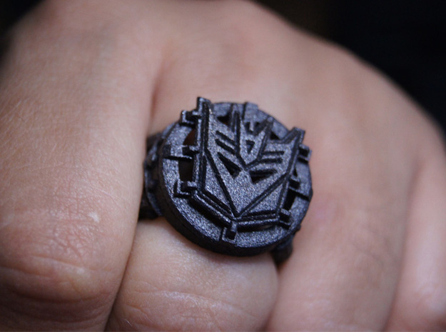 Decepticon Ring Size 10