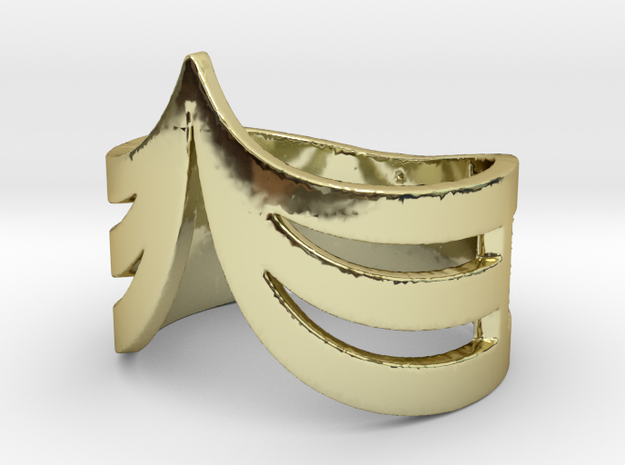 WINGS ring | size: 6.5 3d printed