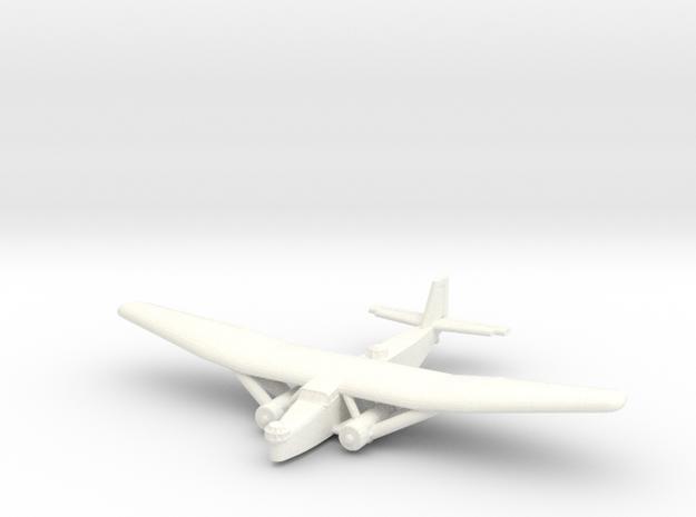 Farman F.220 (222)  (1/600 Scale) Qty. 1- France in White Processed Versatile Plastic