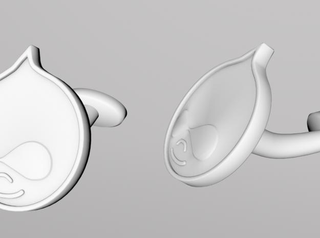 Drupal-cufflinks 3d printed Render