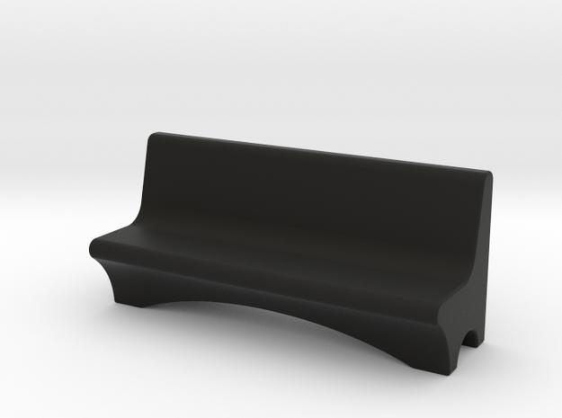 HO Scale Concrete Bench