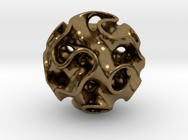 GYROID Sphere Pendant
