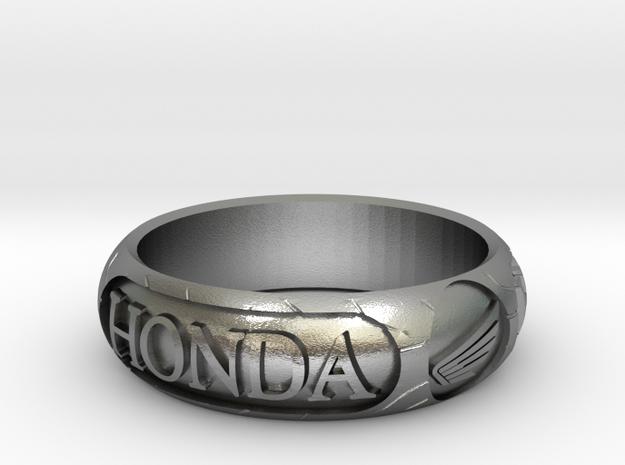 "Honda Tire Size V 1/2 - 65mm - 2"" 11/16 in Natural Silver"