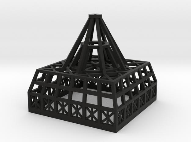Primitive Dave - Temp 1.700 Spine Antenna Base in Black Natural Versatile Plastic