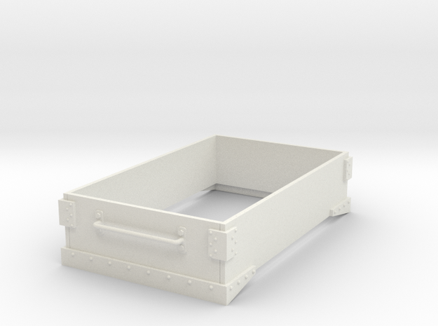 Gn15 small 5ft wagon top in White Natural Versatile Plastic