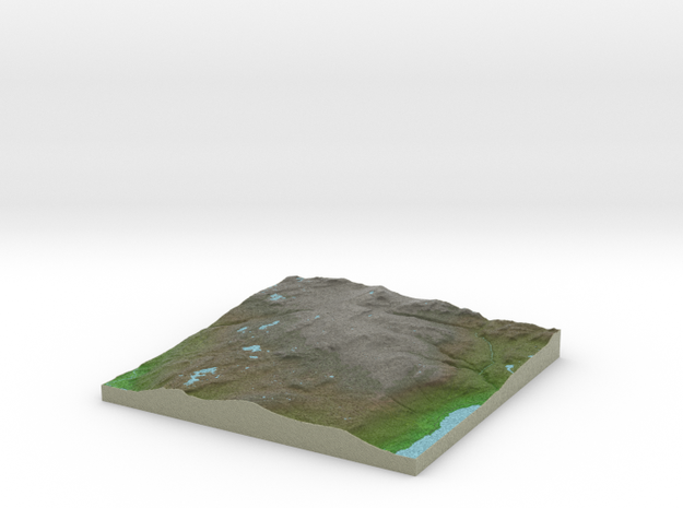 Terrafab generated model Sun Dec 14 2014 14:30:05  in Full Color Sandstone