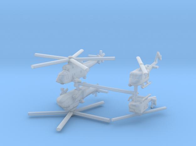 1/700 Italian Naval Aviation Kit 1 in Smooth Fine Detail Plastic