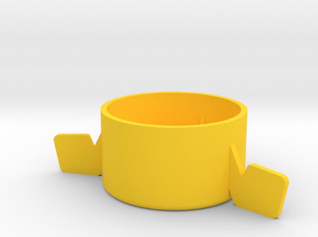 Cork Dorks™ Petite Feet in Yellow Processed Versatile Plastic