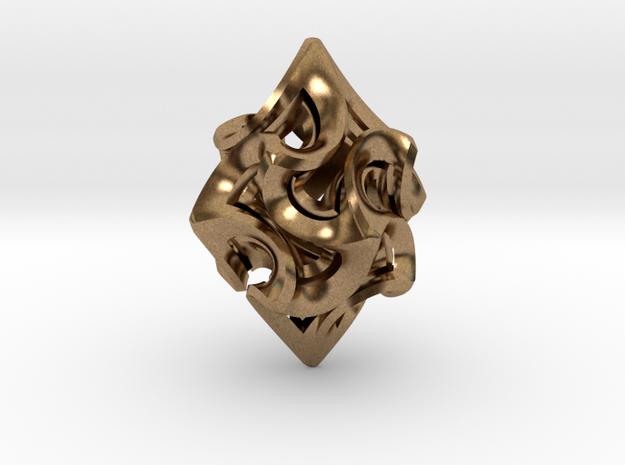 Flame Rhomb Pendant 3d printed