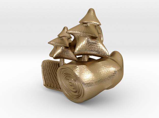 DeepForest in Polished Gold Steel