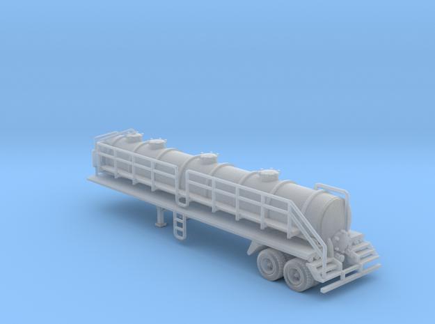 130 bbl Steel Vacuum Heavy Duty trailer 45' 5400 g in Smooth Fine Detail Plastic