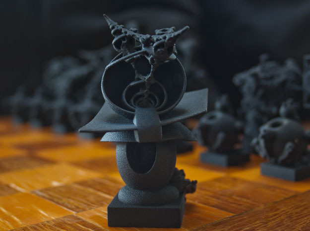 Surreal Chess Set - My Masterpieces -  Bishop II