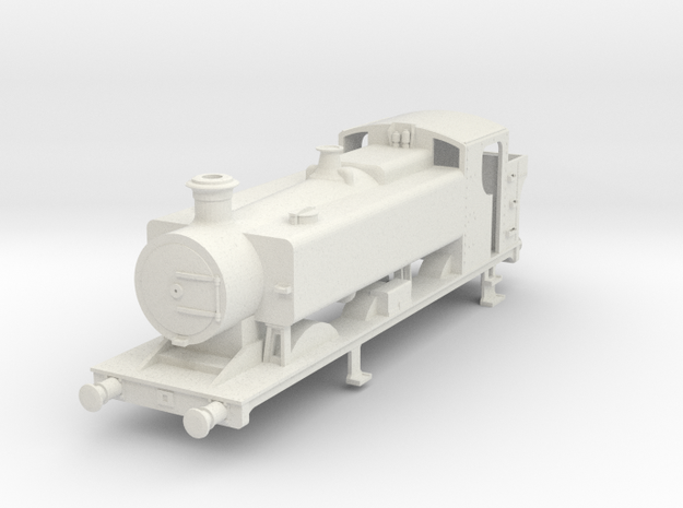 00 scale body for 94xx Pannier tank. in White Natural Versatile Plastic