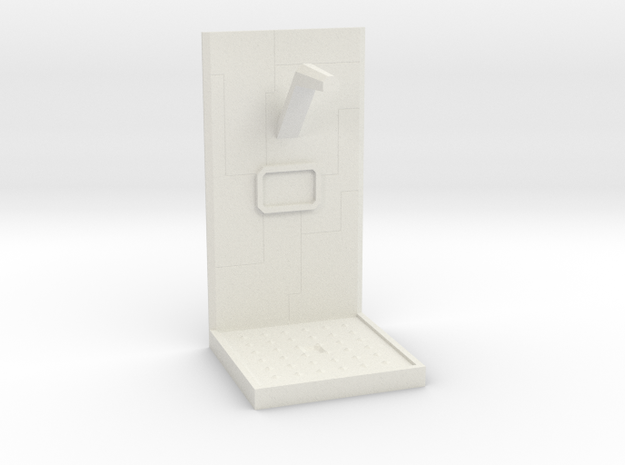 Future Shower Unit w/ Tech Lines 28mm to 32mm in White Strong & Flexible