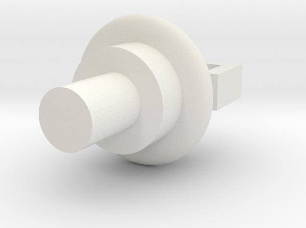 Virtakiskopidin-v2 in White Natural Versatile Plastic