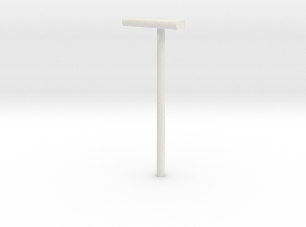 1/160 - DSB Stations lampe (VIA) in White Natural Versatile Plastic