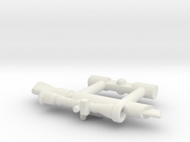 Bravestarr Neutra-Laser in White Strong & Flexible