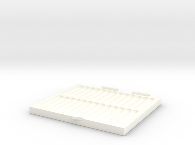 Portable Pinning Mat in White Processed Versatile Plastic