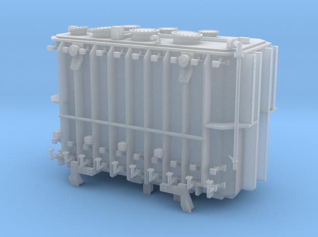 Transformer load Exactrail QTTX 2 trk Sans Beams in Smooth Fine Detail Plastic