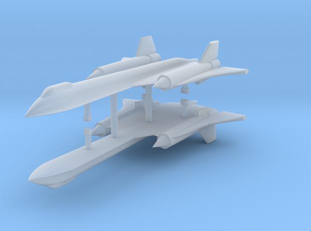 1/700 SR-71A Blackbird (x2) in Smooth Fine Detail Plastic