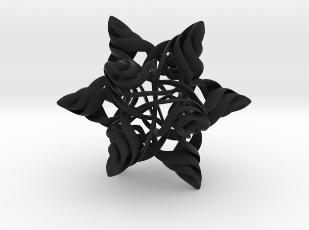 Rhombic Triacontahedron V, medium 3d printed