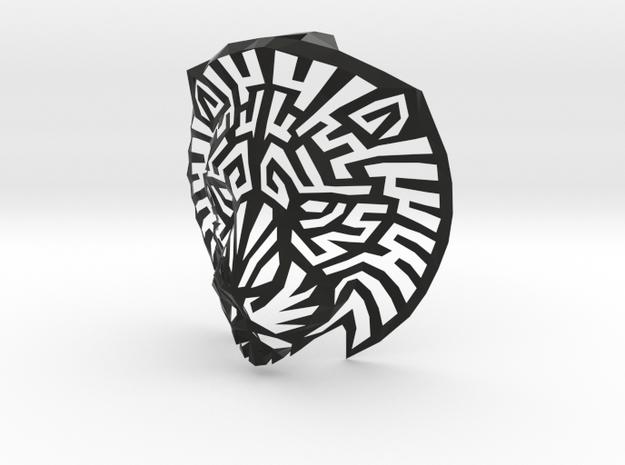 Modern Faux Taxidermy - Lion Head (L) 3d printed