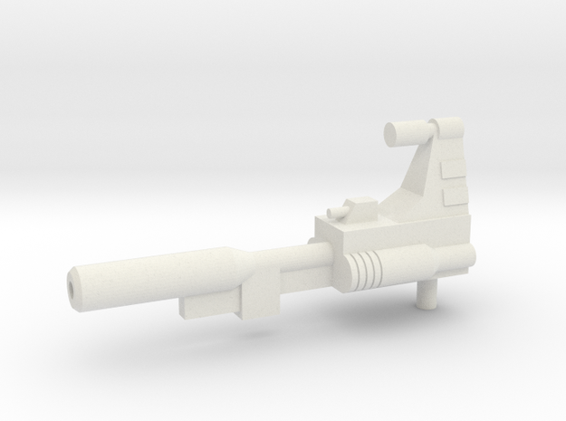 TW Slag G1 Gun in White Natural Versatile Plastic