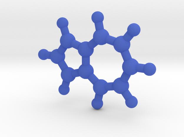 Azulene (small) in Blue Processed Versatile Plastic