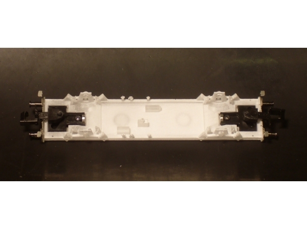 1103 N Glmhs 50, Bretterwände 3d printed Wagenboden mit Kurzkupplungskulissen