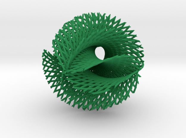 6x5 ribbon on hypersphere 3d printed