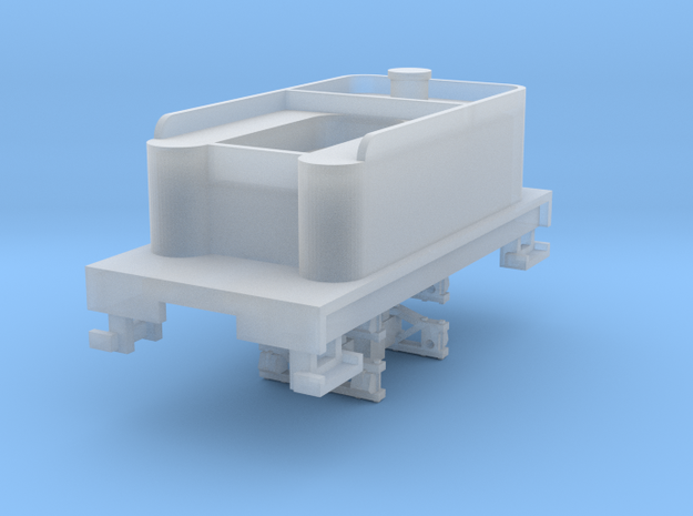 Small 8 wheel Tender for HOn30 F&C loco, ver.A