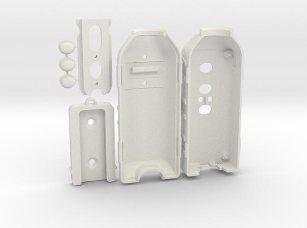 3D-PRINT-CAMERA-CASING in White Natural Versatile Plastic