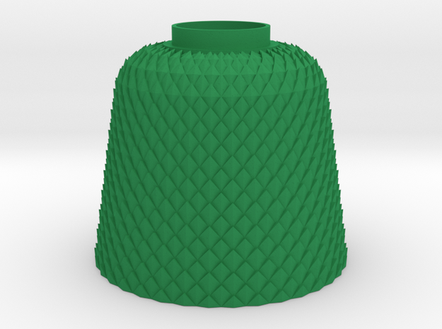 Lampshade Ananas in Green Strong & Flexible Polished