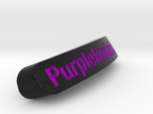 Purplekoolaid Nameplate for SteelSeries Rival