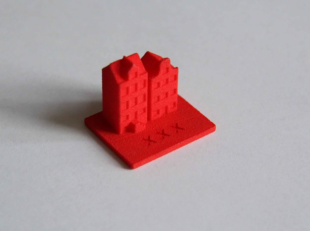 Amsterdam Souvenir in Red Strong & Flexible Polished