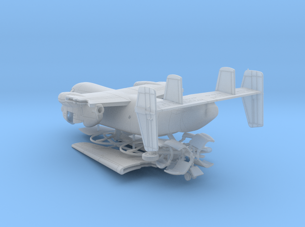 013A C-2 Greyhound 1/144 in Smooth Fine Detail Plastic