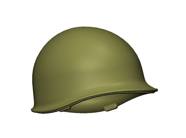 M1 Helmet (set of 15) 1-35 Scale