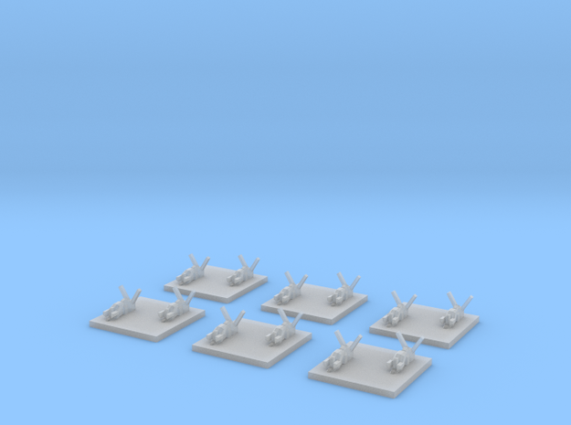 "Taiidan ""Naaris"" Heavy Corvettes (6) 3d printed"