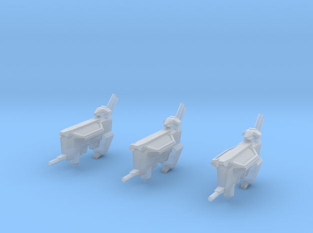 Kushan Matriarch Support Frigates (3) (Variant) 3d printed