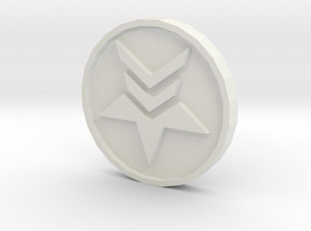 Paragon Renegade Coin in White Strong & Flexible
