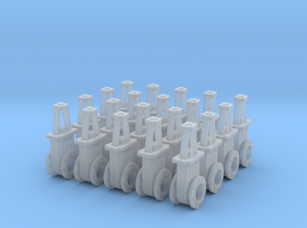 6in Gate Valve 3b - 20ea in Frosted Ultra Detail