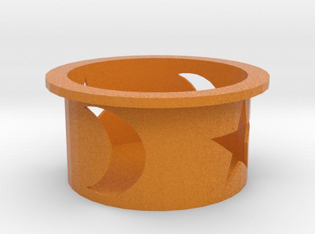 Candle Holder/kandelaar Voor Kaarsen Met Ø10 cm in Full Color Sandstone