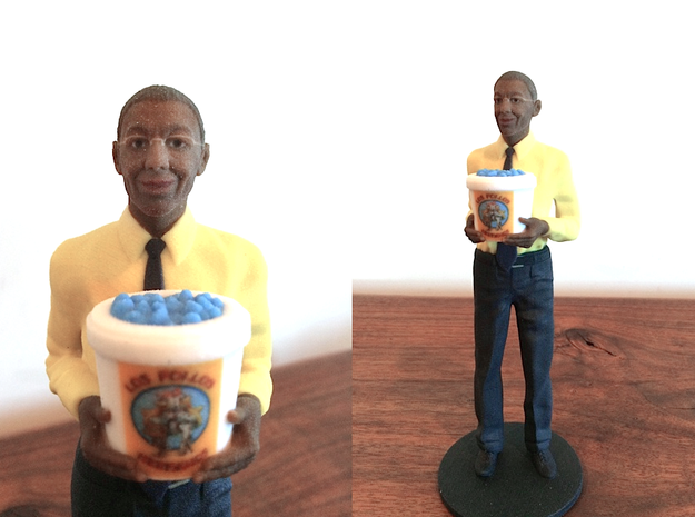 Gus Fring with Meth Bucket