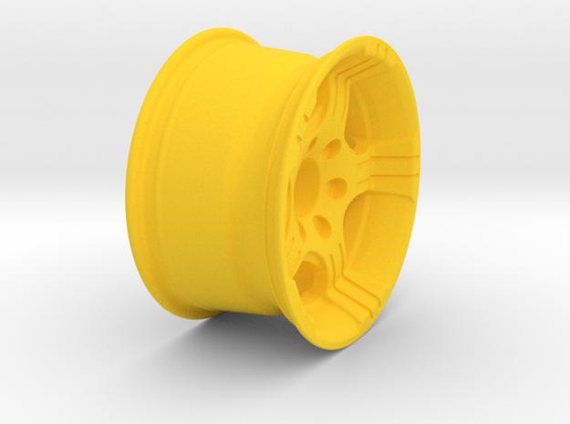 Rim  in Yellow Processed Versatile Plastic