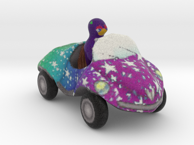 Coccinelle toy car in Full Color Sandstone